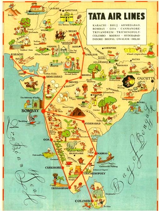 Tata India map
