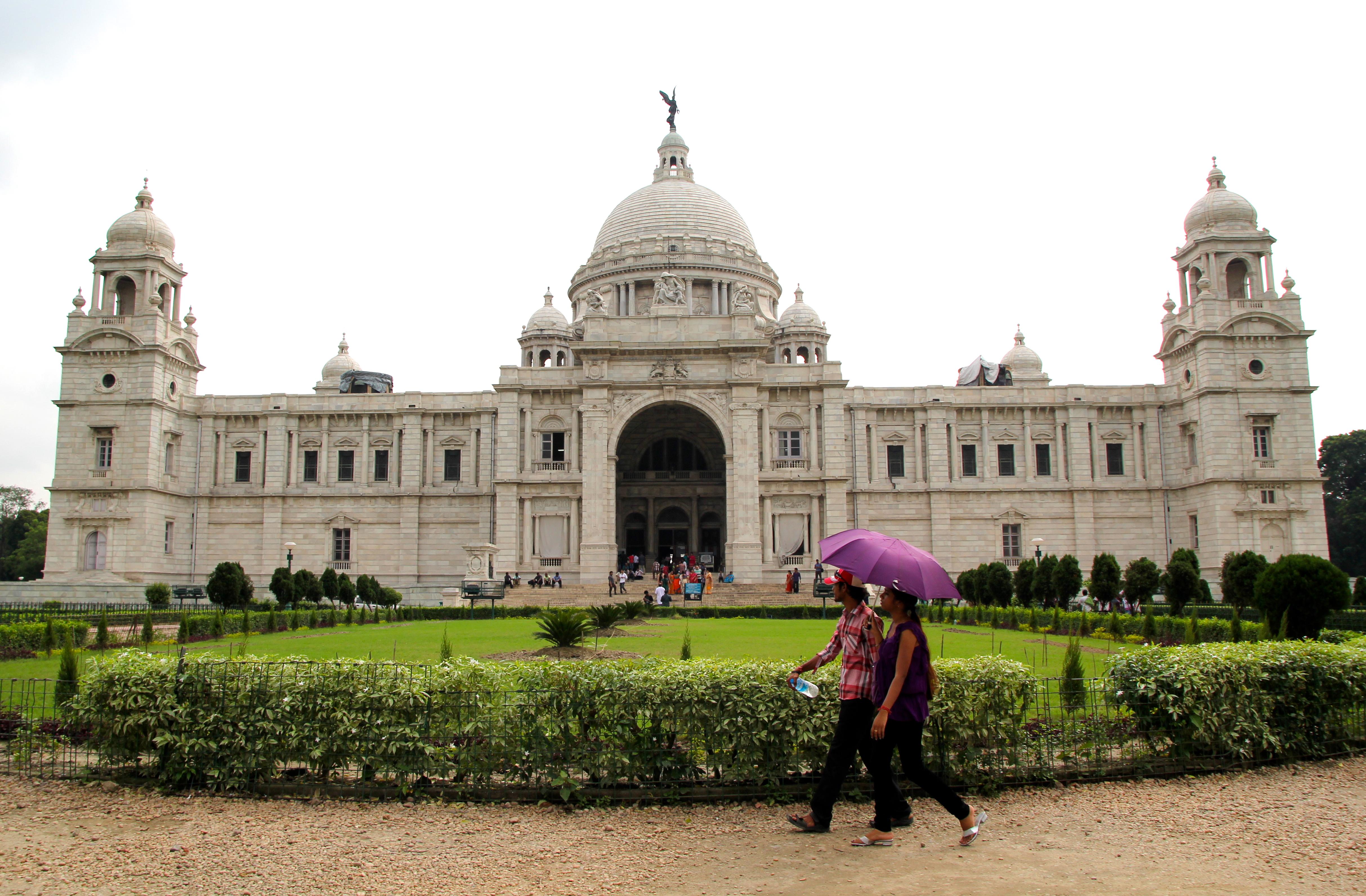 Victoria Memorial monsoon